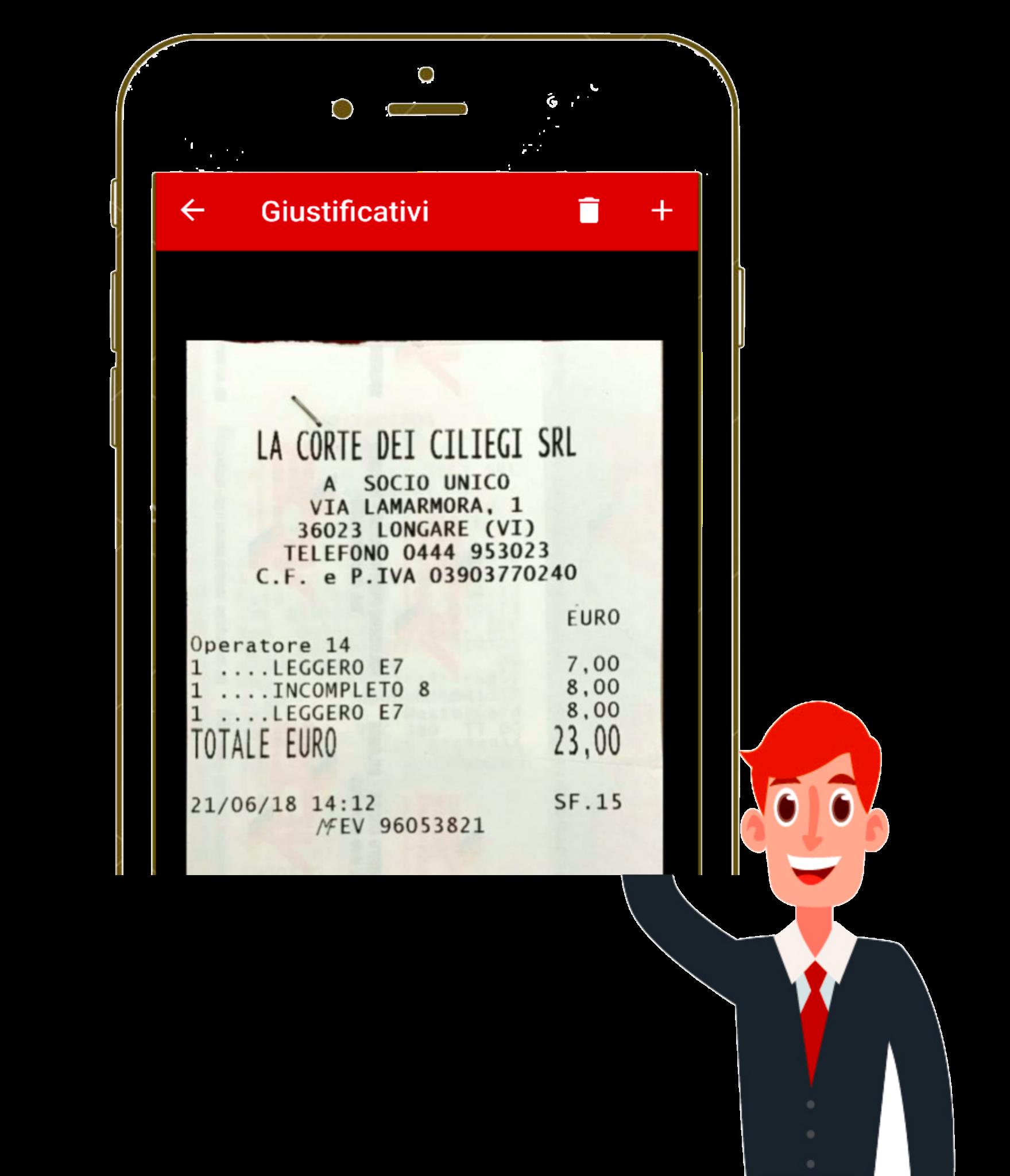 Compila la nota spese